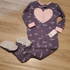 Brand New footed Carter's Pajamas